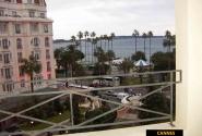 Канн, вид с балкона номера отеля Majestic