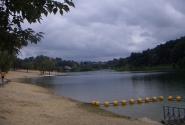 озеро, пляж