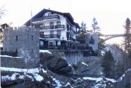 один из отелей курорта