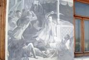 Фрагмент росписи Овчинникова