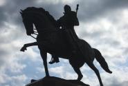 Новочерскасск. Памятник основателю города - Платову.