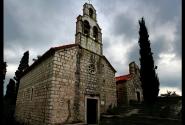 Церковь на острове святого Стефана, к сожалению не помню названия.