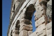 Римский колизей в городе Пула