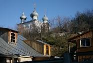 Юрьевец, вид на Богоявленскую церковь