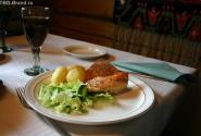 Вкуснейшая картошечка с лососем и финский квас
