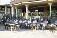 В марокканских кафе - сплошь мужчины