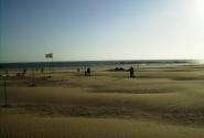 Пустынный пляж Агадира
