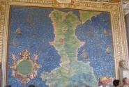 Карта Калабрии в музее Ватикана