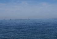 Российские военные корабли на рейде