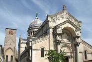 Башня Карла Великого и базилика св. Мартина, Тур