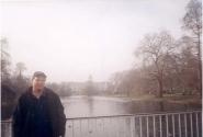 Букингемский дворец конечно в тумане