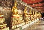 Таиланд. Золотые Будды.