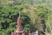 Вид с горы Пном Кулен