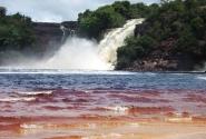 Лагуна в национальном парке Канайма в сухой сезон