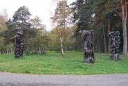 можно просто разглядывать скульптуры, которые встречаются по всему городу, который больше похож на парк.