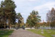 мемориальное кладбище советским воинам