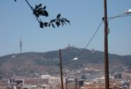 Монжуик. Над Барселоной.