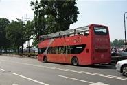 Двухэтажный автобус не только в Лондоне, но и в Питере