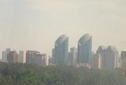 2007, Пекин, вид из гостиницы Ритань