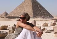 Гиза, малая пирамида