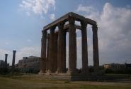 Храм Зевса Олимпийского, точнее говоря, то, что от него осталось