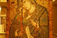 Очень редкая мозаичная византийская икона