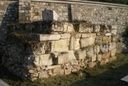 Остатки древней городской стены