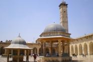 Двор внутри Большой мечети