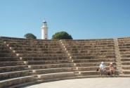 Одеон в археологическом парке Пафоса