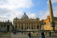 Открытка про Рим