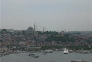 Вид на мечеть Сулеймание с Галатской башни