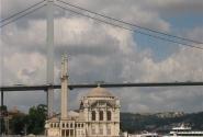 Босфорский мост и мечеть Меджидие