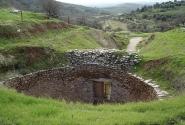 циклическая гробница в Микенах