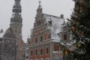 Дом Черноголовых и Собор св. Петра