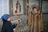 На экскурсии в монастыре