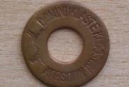 Памятная монетка из Доминиканского монастыря