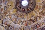 Фрески купола со сценами Страшного суда