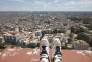 Вид на город с крыши здания Habana Libre