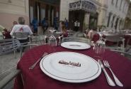 ПАфосный ресторан в исторической части города