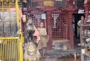 Главный монах Золотого дворца в Катманду. А вам слабо в таком возрасте?