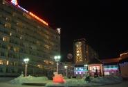 Новогодняя иллюминация в городе Белокуриха