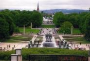 Осло, фонтан Вигелана