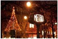 Елисейские поля, метро декабрь-январь 2010