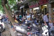 Тихая улочка Ханоя.
