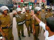 В Шри-Ланке комендантский час