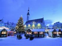Все больше туристов приезжает в Таллин из России