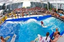 В аэропорту Мюнхена можно заняться серфингом