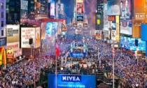 Как встретили Новый 2014 год в Нью-Йорке