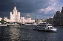 По Москве-реке начали ходить речные трамвайчики