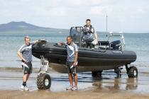 Лодка с колесами - к услугам постояльцев отеля на Сейшелах